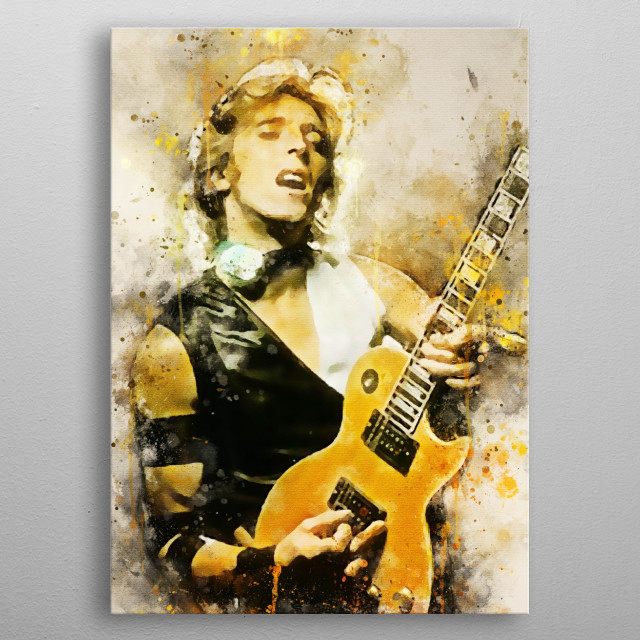 Michael Ronson is a guitarist, songwriter, British multi-instrumentalist, arranger, and producer metal poster