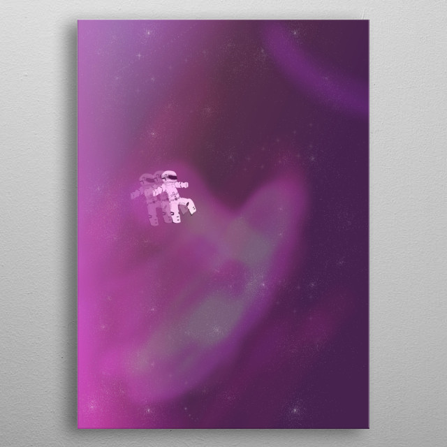 Fascinating metal poster designed by Lindorf Temotio. Displate has a unique signature and hologram on the back to add authenticity to each design. metal poster