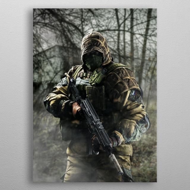 Kapkan, Spetsnaz metal poster