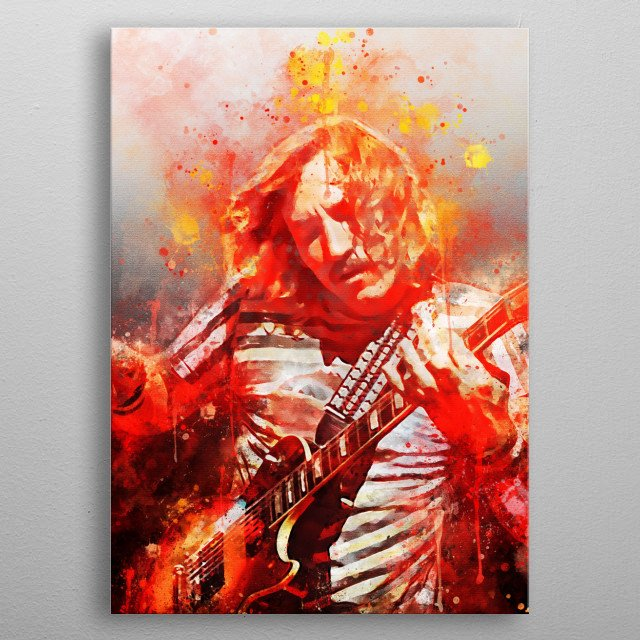 Joseph Fidler Walsh is an American singer, guitarist and songwriter.  In a career span of more than 50 years, he has been a member of five s metal poster