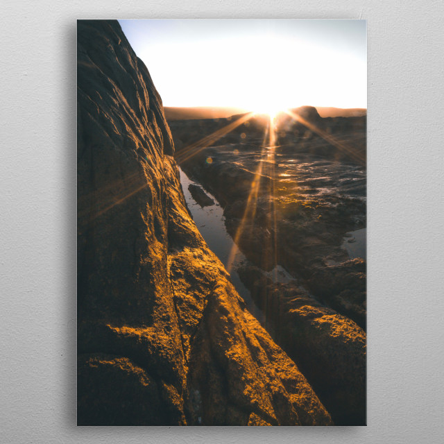 Cape Columbine South Africa | Image by Chantelle Flores  metal poster