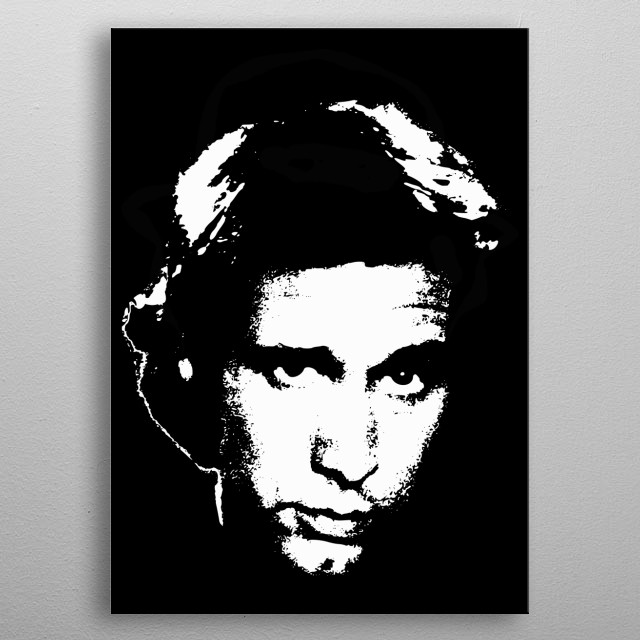 Chevy Chase Minimalistic Tribute. metal poster
