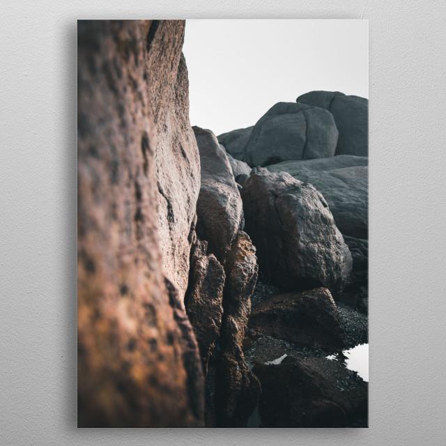 Cape Columbine SA | Image by Chantelle Flores  metal poster