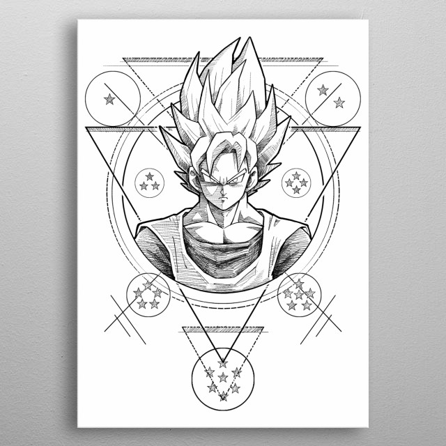 super warrior metal poster