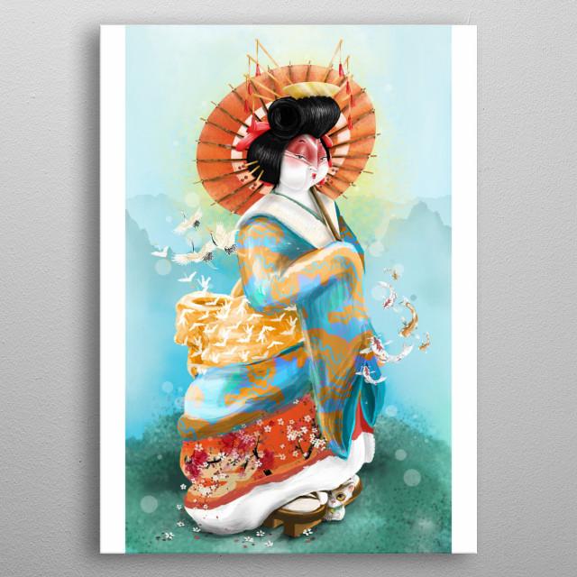 Inspired by Kabuki metal poster