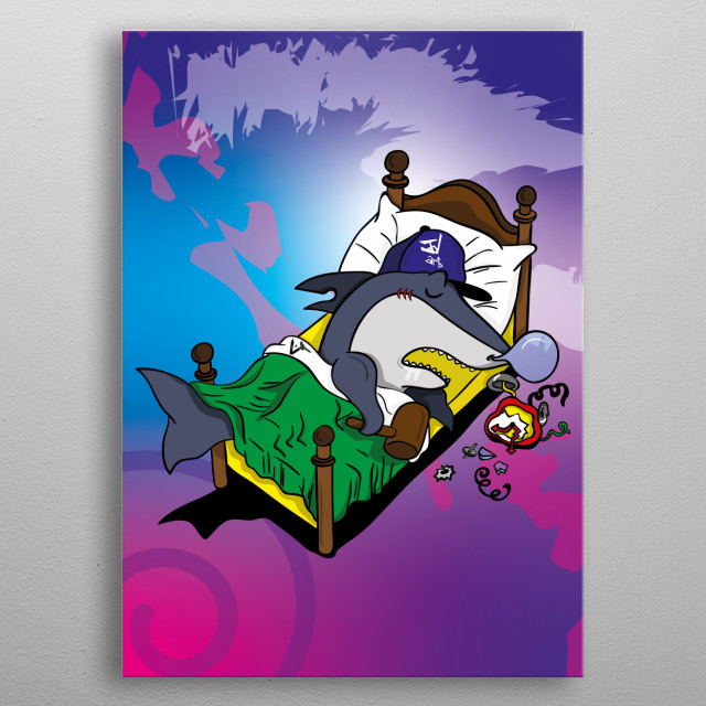 Who wouldn't want to break their own alarms, especially on Mondays? metal poster