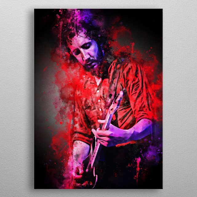 Peter Dennis Blandford Townshend is a British multi-instrumentalist, singer and songwriter known as the second lead guitarist, backing and  metal poster
