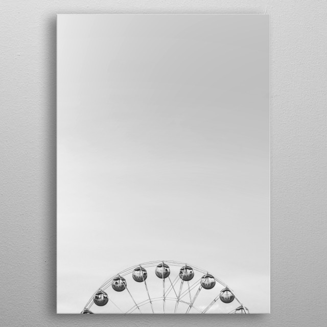 London City Black and White Collection Image by Chantelle Flores |  metal poster