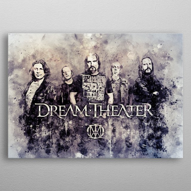 Dream Theater is one of the most prominent progressive metal groups in the world today.  First formed in 1985 under the name Majesty.  Found metal poster