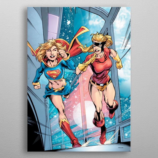 High-quality metal wall art meticulously designed by DC Comics would bring extraordinary style to your room. Hang it & enjoy. metal poster