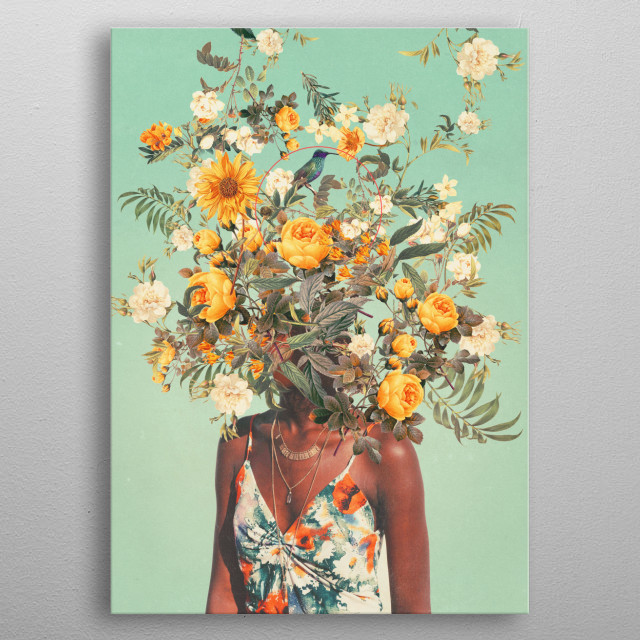 You Loved me a Thousand Summers ago. I was born so that it could Happen metal poster