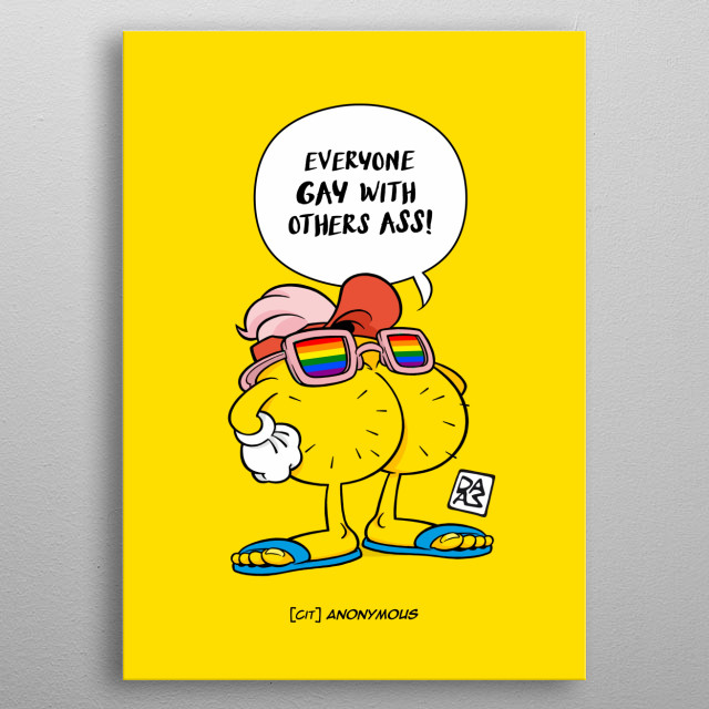"""Cartoon with funny ass character who declaims (more or less) famous quotes about the """"subject"""" ;) :P   metal poster"""