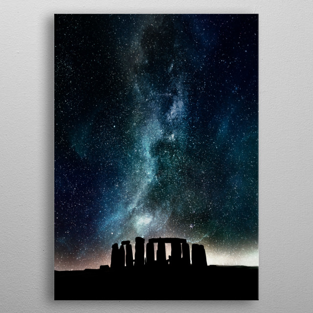 Fascinating metal poster designed by MCAshe Art. Displate has a unique signature and hologram on the back to add authenticity to each design. metal poster