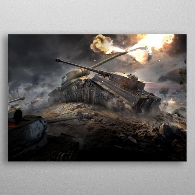 Protivostoyanie metal poster