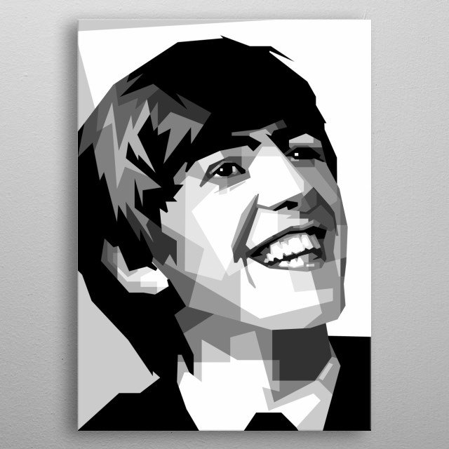 George siapa gitu design ilustration with sketch awesome vector pop art metal poster