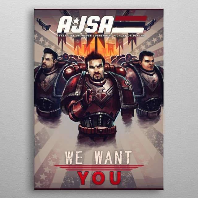 Runner-up in the 1st AJSA Poster Contest! The entire crew of the AngryJoeShow! Via Artist: Gwalchmai Joshua Doran metal poster