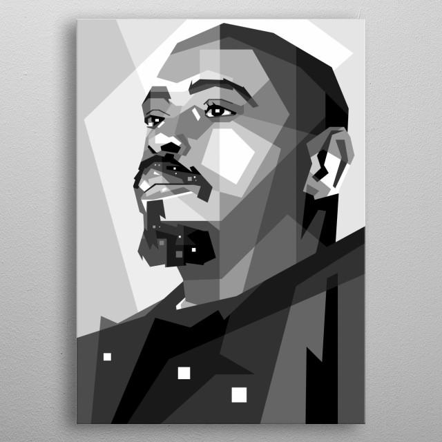 male singer, in design wpap pop art awesome color. sketch ilustration metal poster