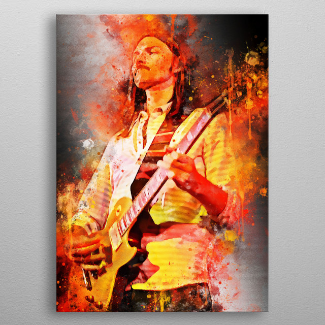 Dickey Betts, is an American guitarist, singer, songwriter and composer best known as a founding member of The Allman Brothers Band metal poster