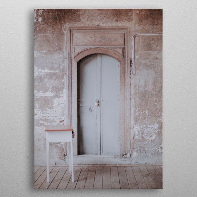 Istanbul Turkey Architecture | Image by Chantelle Flores   metal poster