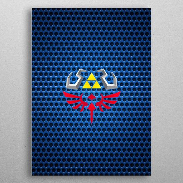 High-quality metal print from amazing Gaming collection will bring unique style to your space and will show off your personality. metal poster