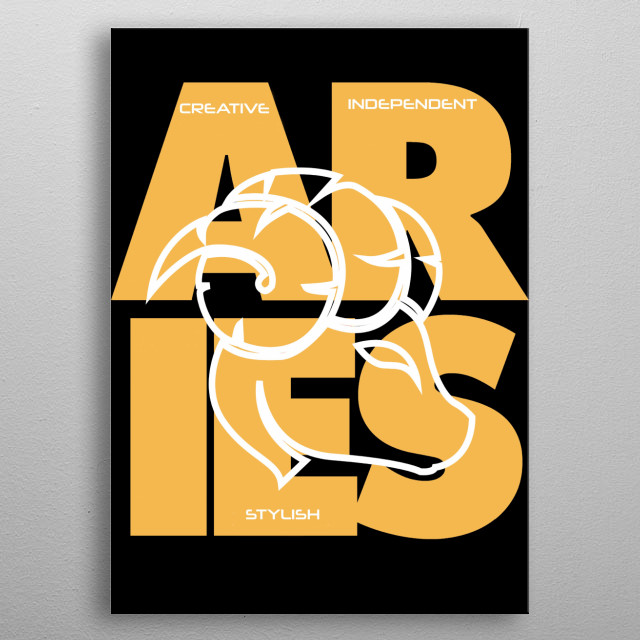 High-quality metal print from amazing astrology collection will bring unique style to your space. metal poster