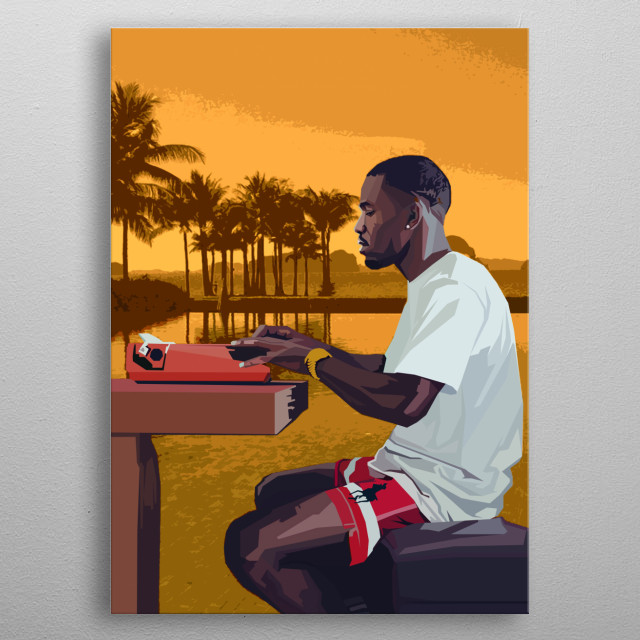 Boys Don't Cry Frank Ocean singer, songwriter, rapper, record producer metal poster