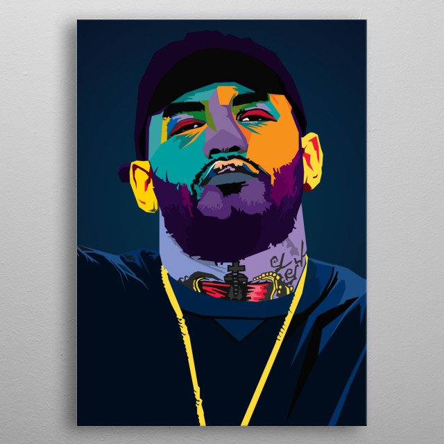 Joyner Lucas Gary Lucas American rapper, singer, songwriter, record producer, poet, and actor metal poster