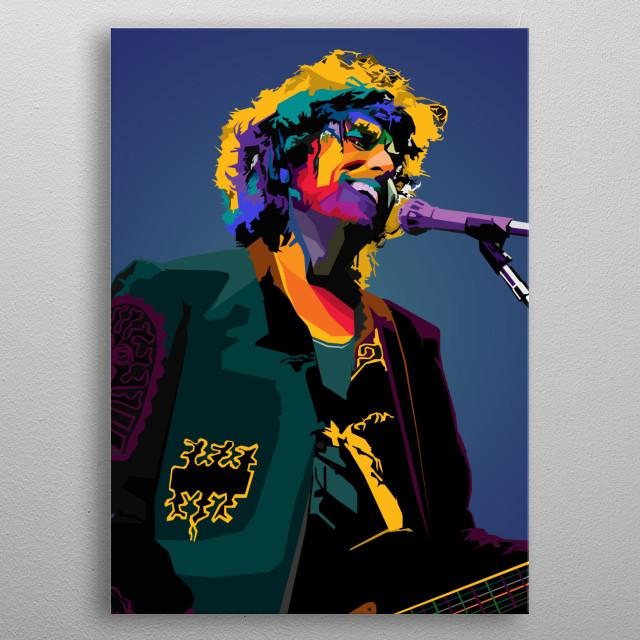 Bob Dylan Robert Allen Zimmerman singer-songwriter, author, rock metal poster
