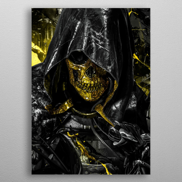 This marvelous metal poster designed by SyanArt to add authenticity to your place. Display your passion to the whole world. metal poster