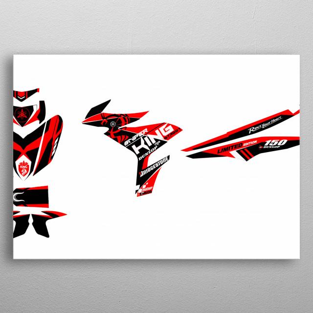 Motorcycle Decals by Jonlery Iral | metal posters - Displate