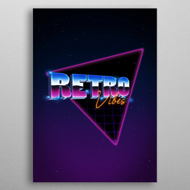 Every 80's kid feel some kind of nostalgia when tinkling of things like arcade games, retro neon triangles, the movies, the songs, or even t metal poster
