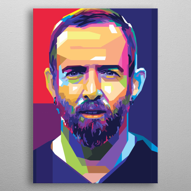 Pop Art Illustration color full for Dave Farrell  Check my profile for other art of linkin park. Thank You! metal poster