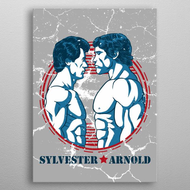 Sylvester & Arnold metal poster