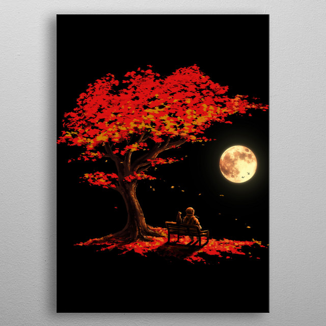 Autumn is coming!  metal poster