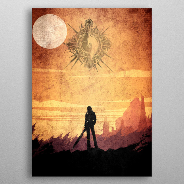 Brown Squall metal poster