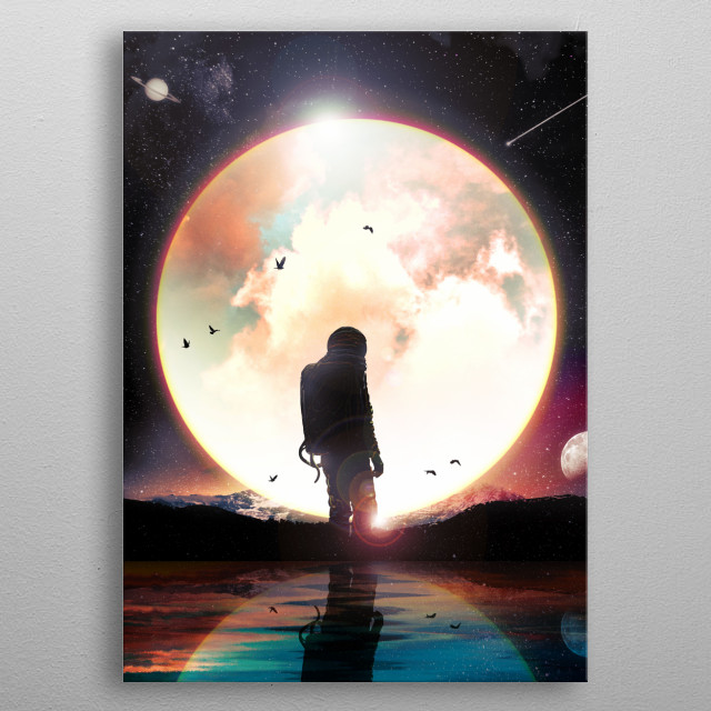 The radiant. metal poster