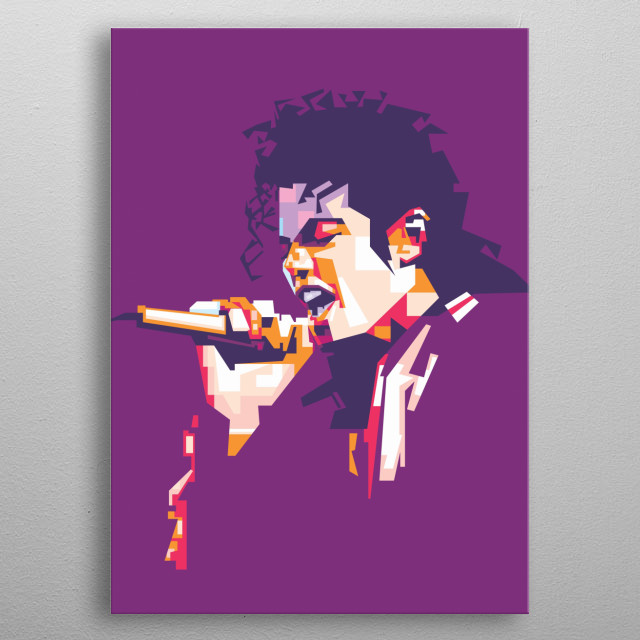 "michael jackson was an American singer, songwriter, and dancer. Dubbed the ""King of Pop"", metal poster"