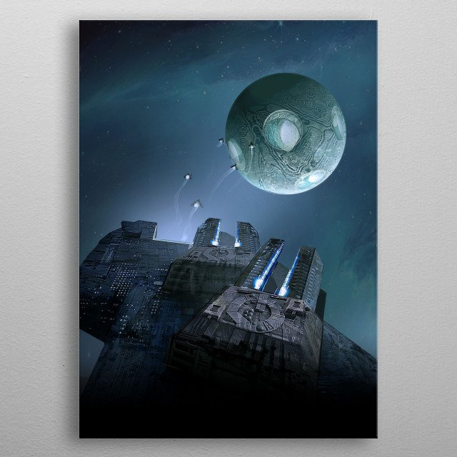 The Battle of the Void is the fifth novel in the Ember War Saga. A single fleet must sacrifice everything to buy Earth time to survive.  metal poster