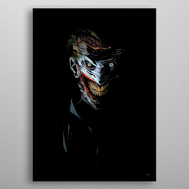 Fascinating  metal poster designed with love by DC Comics. Decorate your space with this design & find daily inspiration in it. metal poster