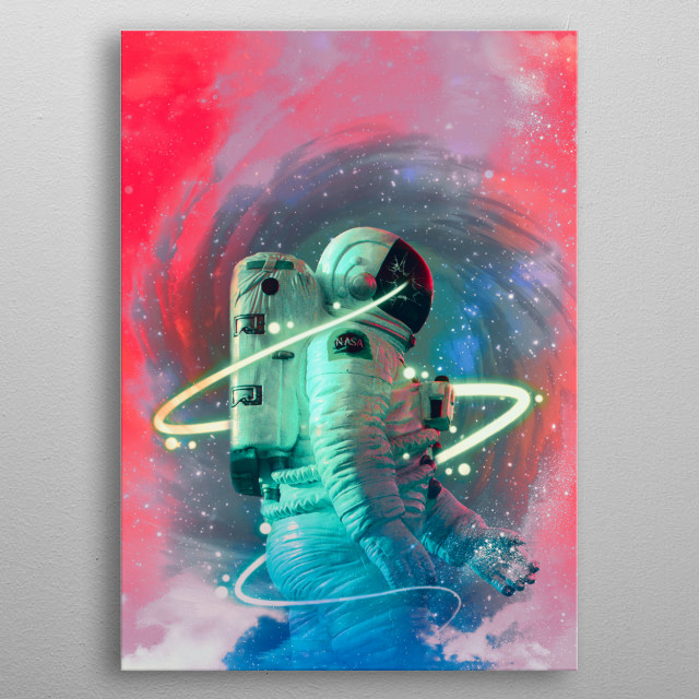 High-quality metal print from amazing Space Y collection will bring unique style to your space and will show off your personality. metal poster