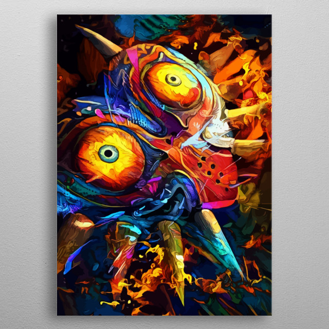 High-quality metal print from amazing Games collection will bring unique style to your space and will show off your personality. metal poster