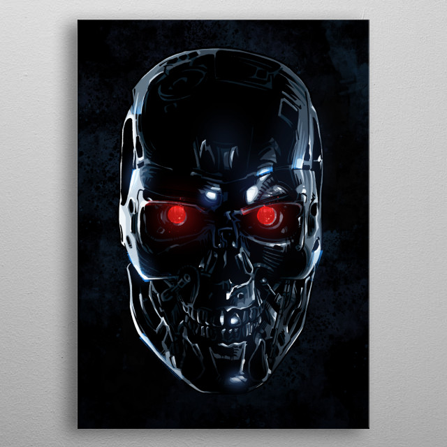 Fascinating metal poster designed by Nikita Abakumov. Displate has a unique signature and hologram on the back to add authenticity to each design. metal poster