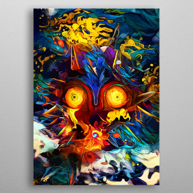 This marvelous metal poster designed by spacechimpa to add authenticity to your place. Display your passion to the whole world. metal poster