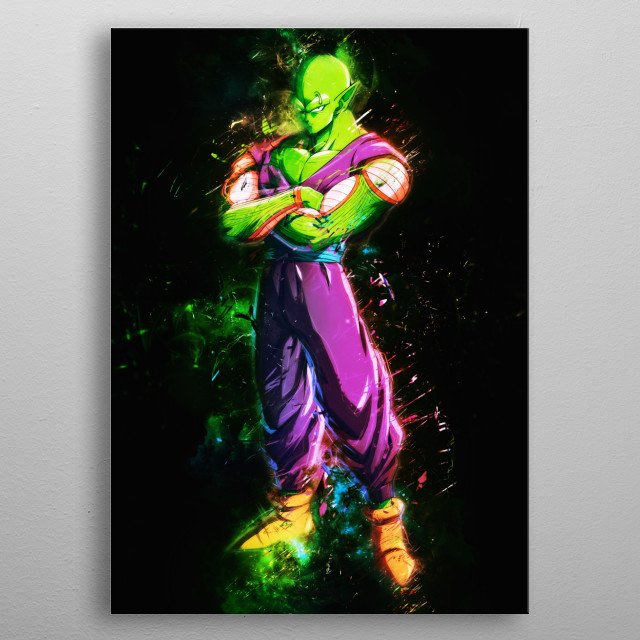 Frieza Dragon Ball Goku Supper Saiyan Blue Dragon Ball Piccolo Dragon Ball Super Gogeta Dragonball Super metal poster