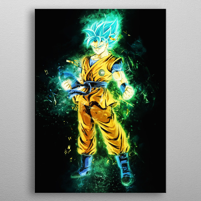 Frieza Dragon Ball Goku Supper Saiyan Blue Dragon Ball Piccolo Dragon Ball Super Gogeta Dragonball Super metal poster