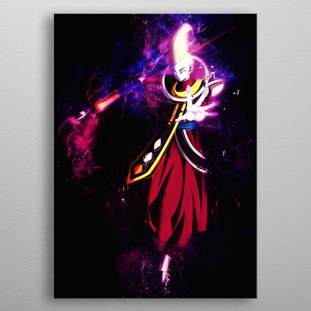 Future Trunks, Sword of Hope Goku ssb Dragonball Super Mastered Ultra Instinct Whis Goku Utra Instinto metal poster
