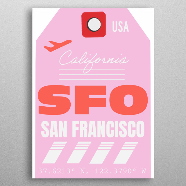 Travel style poster metal poster