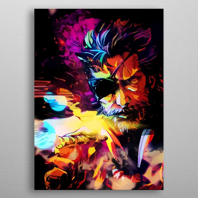 High-quality metal wall art meticulously designed by spacechimpa would bring extraordinary style to your room. Hang it & enjoy. metal poster