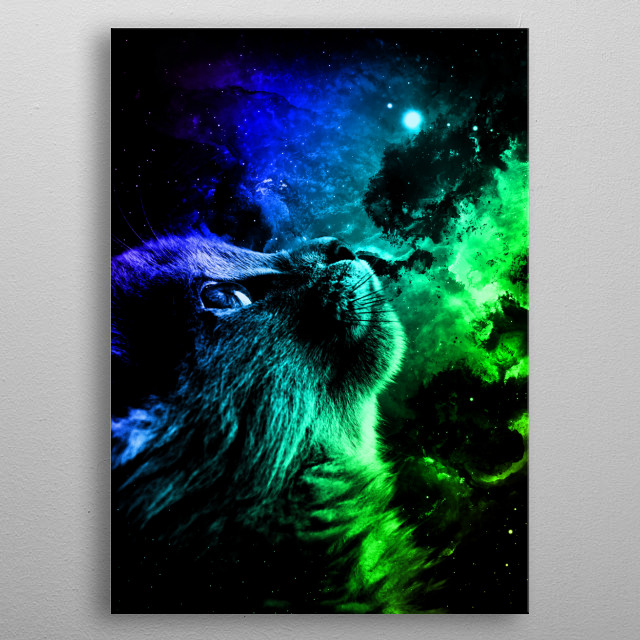 Fascinating metal poster designed by Mateusz Ślemp. Displate has a unique signature and hologram on the back to add authenticity to each design. metal poster