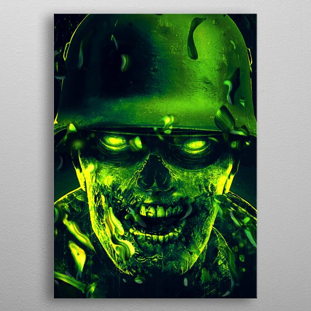 Sniper elite 2 green zombie rubius dubstep metal poster
